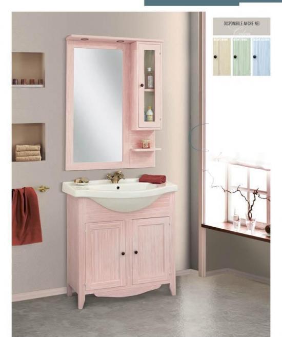 arredo bagno mobile classico decape 39 rosa venezia