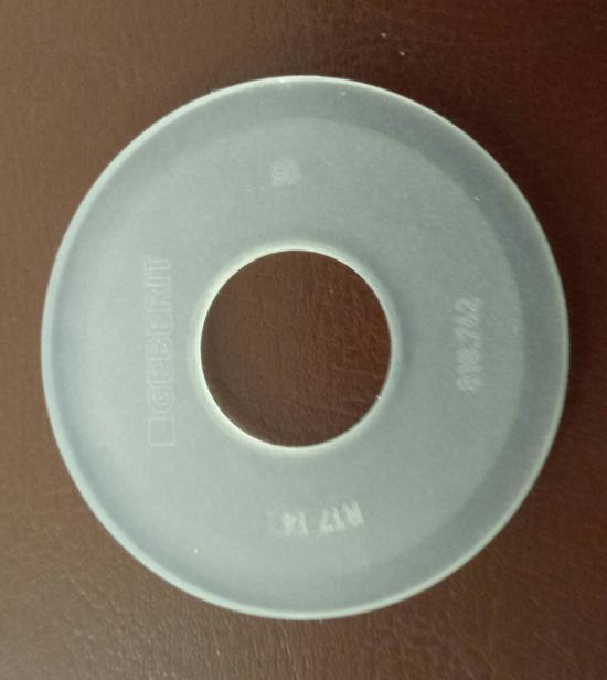 Geberit guarnizione per campana cassetta wc for Geberit campana completa per cassetta