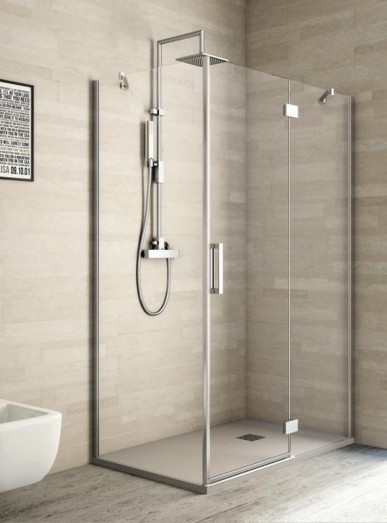 Bagno doccia di bellezza ispirazione interior design - Box doccia colorati ...