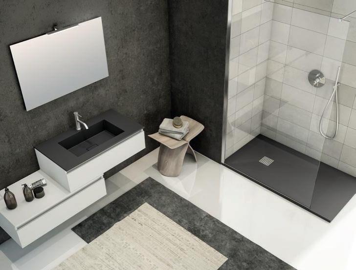 sol.5 fornitura completa bagno arredobagno+piatto doccia+box ... - Arredo Bagno Rubinetteria