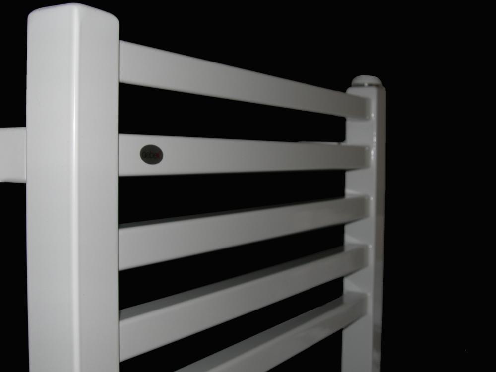 Termoarredo acciaio bianco moderno cm interasse cm italy