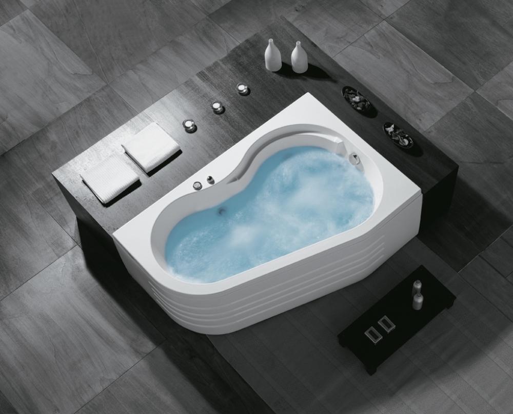 Vasche Da Bagno Angolari 150 100 : Vasca da bagno idromassaggio angolare cm san marco con